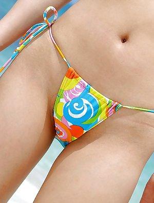 Asian Bikini Butts Pics